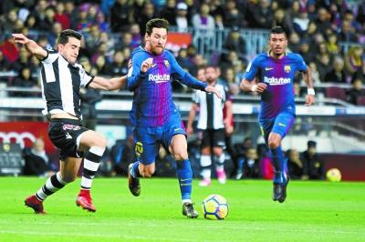 Lionel Messi når legendarisk rekord